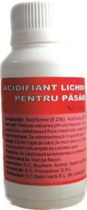 Acidifiant lichid concentrat pentru pasari si suine 100 ml